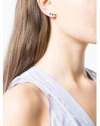 Khai Khai - Metallic Jaws Earrings - Lyst