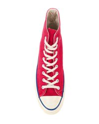 Converse - Red Chuck Taylor All Star 1970s Vintage Hi-tops for Men - Lyst