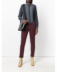 Jacob Cohen - Purple Slim-fit Jeans - Lyst