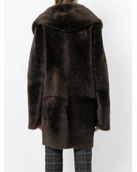 Sylvie Schimmel - Black Cortina Oversized Coat - Lyst