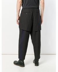Ziggy Chen - Gray Loose Fit Trousers for Men - Lyst