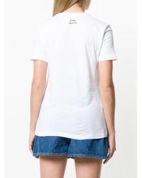 Être Cécile - White Étoile De Mer Print T-shirt - Lyst