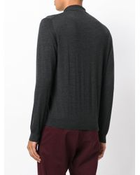 Fashion Clinic Timeless - Gray Henley Jumper for Men - Lyst