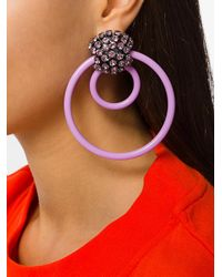 Marni - Multicolor Ring Clip On Earrings - Lyst