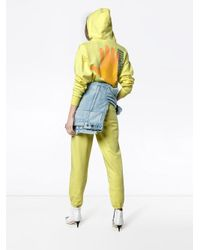 Ashley Williams - Yellow Gimme Five High Waist Joggers - Lyst