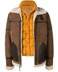 Brown For Force Royal Schott Jacket Nyc Men In Lyst Air 0AqwPYwg