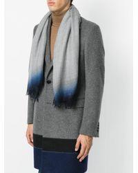 Faliero Sarti - Gray Tie Dye Scarf - Lyst