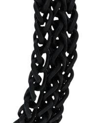 Eleventy - Black Chained Bracelet for Men - Lyst