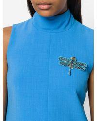 Vivetta - Blue Dragonfly Brooch - Lyst