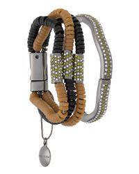Camila Klein - Metallic Resin Details Bracelet - Lyst