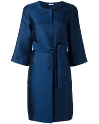 P.A.R.O.S.H. - Blue Picabia Coat - Lyst