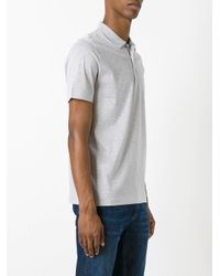 Canali - Gray Classic Polo Shirt for Men - Lyst