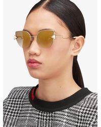 Fendi Metallic Rainbow Sunglasses