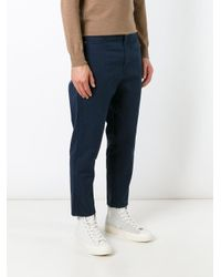 Societe Anonyme - Blue 'deep Chino' Trousers for Men - Lyst
