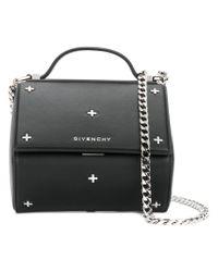 ceb5469ebc Lyst - Givenchy Pandora Box Shoulder Bag in Black