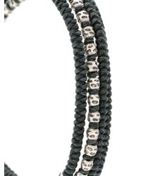 M. Cohen - Green Beaded Bracelet for Men - Lyst