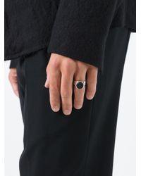 Tom Wood - Metallic 'oval' Ring for Men - Lyst