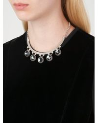Marlo Laz | Gray 'gypsy' Necklace | Lyst