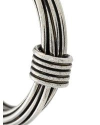 Gas Bijoux - Metallic Ariane Hoop Earrings - Lyst