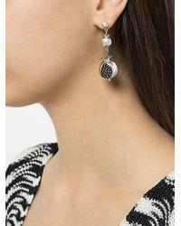 Pamela Love - Metallic Long Persephone Earrings - Lyst