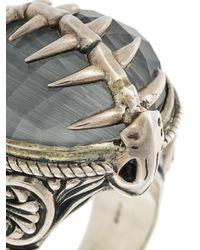 Stephen Webster - Metallic Fish Skeleton Cocktail Ring - Lyst