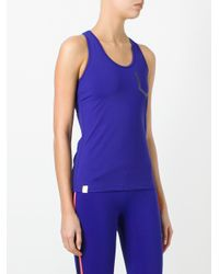 Monreal London - Blue 'essential' Tank Top - Lyst
