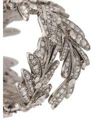 Oscar de la Renta - Gray Tropical Palm Bracelet - Lyst