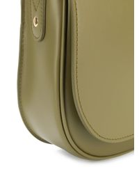A.P.C. - Green Saddle Crossbody Bag - Lyst