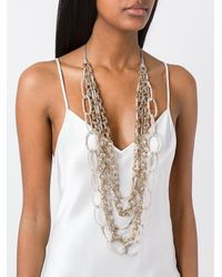 Night Market - Multicolor Long Beaded Loop Necklace - Lyst