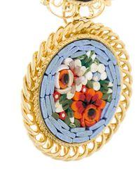 DSquared² | Multicolor Orecchini Pendenti Floreali A Clip | Lyst