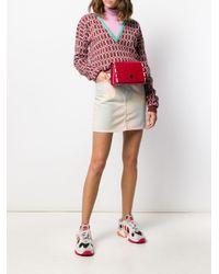 KENZO Red Multi-eye Belt Bag