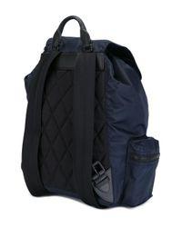 Burberry - Blue 'zaino' Backpack - Lyst