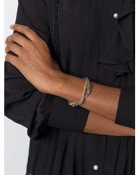 Iosselliani - Metallic 'silver Heritage' Tangled Bracelet - Lyst