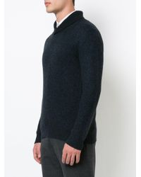 Vince - Blue V-neck Jumper for Men - Lyst
