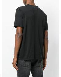 John Varvatos - Black Make Rock Not War T-shirt for Men - Lyst