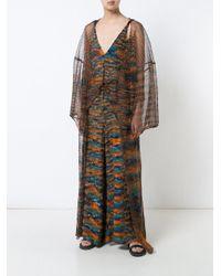 Osklen - Multicolor Long Sheer Jacket - Lyst