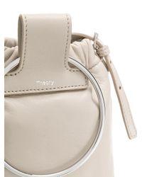 Theory Gray Post Shoulder Bag