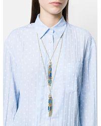 Rosantica - Metallic Turquoise Necklace - Lyst