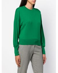 Enfold Green Round Neck Jumper
