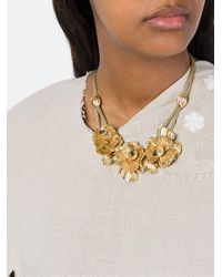 Lara Bohinc - Metallic 'roses' Necklace - Lyst