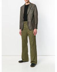 Di Liborio - Gray Boxy Blazer for Men - Lyst