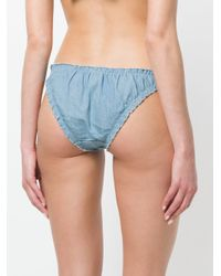 LoveStories - Blue Lolita Denim Briefs - Lyst