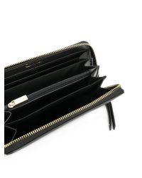 Calvin Klein - Black Continental Wallet - Lyst