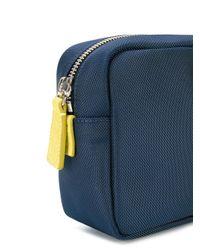 DSquared² - Blue Striped Logo Washbag for Men - Lyst