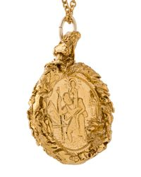 Alighieri - Metallic The St. Christopher Pendant Necklace - Lyst
