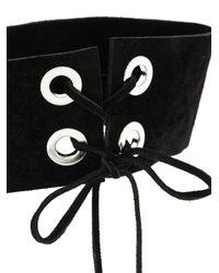 Manokhi - Black Dope Necklace - Lyst