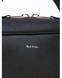 Paul Smith | Black Top Zip Briefcase for Men | Lyst