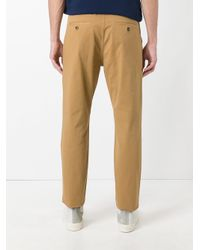 KENZO - Brown Casual Trousers for Men - Lyst