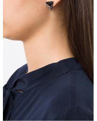 Camila Klein - Metallic Triângulo Earrings - Lyst