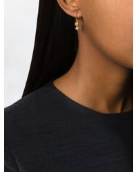 Wouters & Hendrix - Metallic 'playfully Precious' Moonstone Earrings - Lyst